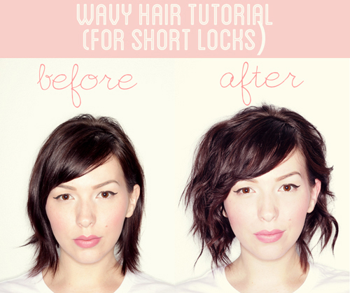 Wavy hair tutorial for short locks keiko lynn wavy hair tutorial for short locks urmus Gallery