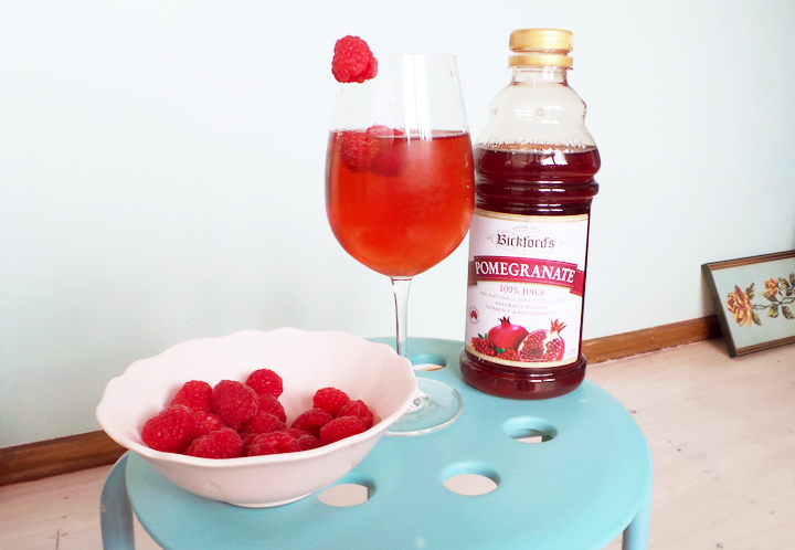 champagne-pomegranate-raspberries b