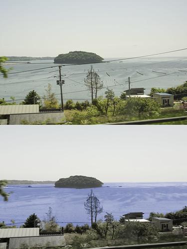elevation of tamogawa utatsu minamisanrikuch� motoyoshigun miyagiken japan