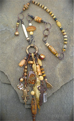 Healing Amulet Necklace by Maggie Zee
