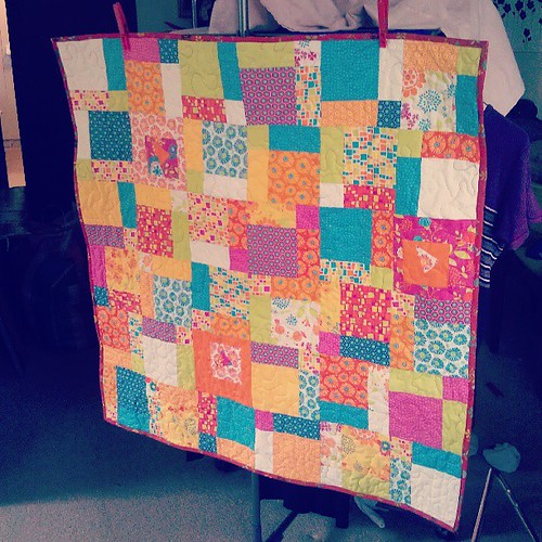And a #quilting finish! Finally! Yay!