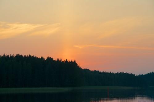 sunset summer suomi finland verano fin finlandia savonlinna puestadelsol saimaa auringonlasku kesä