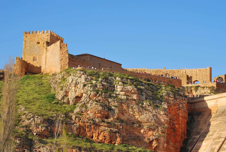 Castillo de Peñarroya, en Argamasilla de Alba. Autora, María Teresa Moya Díaz-Pintado