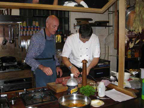 MyFrenchLife™ - French cooking school - Sebastien and student