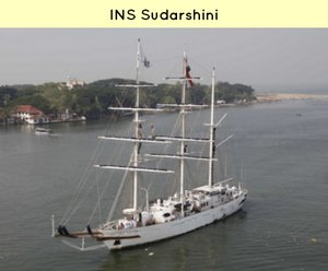 INS Sudarshini sent for India ASEAN