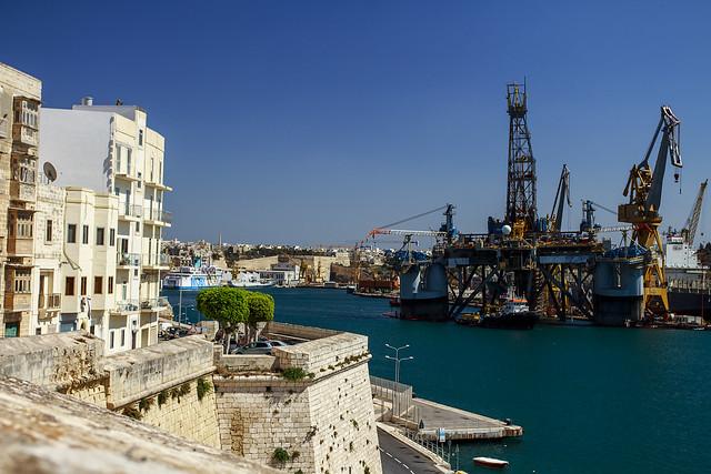 Dockyard & L Isla - Malta