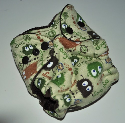Bumstoppers Newborn Camo Ooga Fitted **New Style**