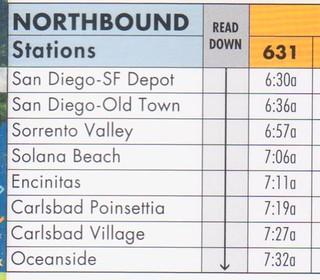 Coaster 2013 Schedule