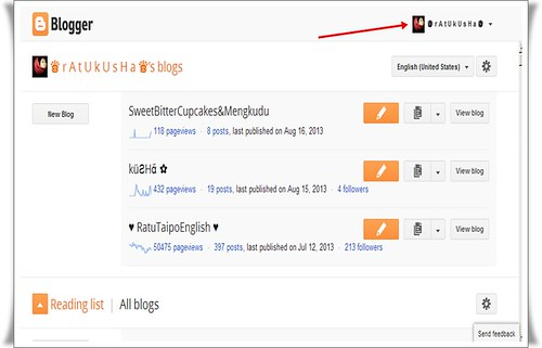 Tutorial 'Unfollow' Blog 2013 | Tips