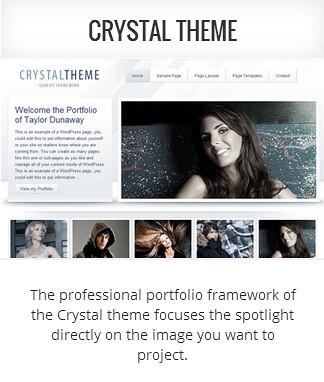 Genesis child theme Crystal