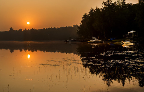 trees mist ontario sunrise boats fishing fuji august lilypads fujinon samueltaylorcoleridge kawartha rimeoftheancientmariner xe1 2013 xf35mmf14r allinahotandcoppersky