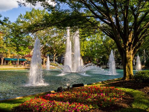 water fountain virginia amusementpark kingsdominion cedarfair