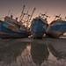 Kuwait - Rusted ships sunset by © Saleh AlRashaid / www.Salehphotography.net