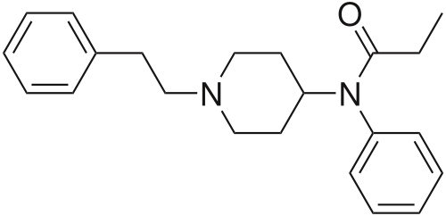 fentanyl chemical structure
