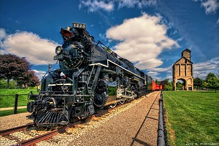 Pere Marquette 1223 Locomotive with Coal Tower