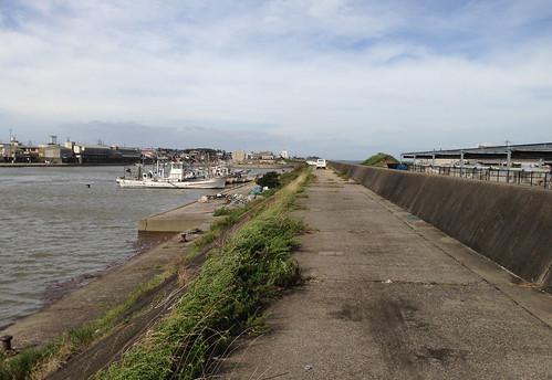 typhoon iphone fishingport 鈴鹿市 suzukacity