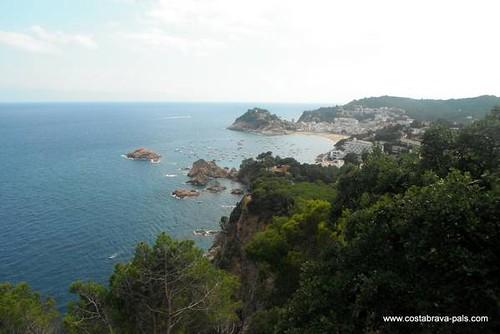 Tossa de mar - La costa Brava vue par Zafon