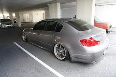coupã©(0.0), sports car(0.0), automobile(1.0), automotive exterior(1.0), executive car(1.0), wheel(1.0), vehicle(1.0), automotive design(1.0), sports sedan(1.0), rim(1.0), infiniti g(1.0), bumper(1.0), sedan(1.0), personal luxury car(1.0), land vehicle(1.0), luxury vehicle(1.0),