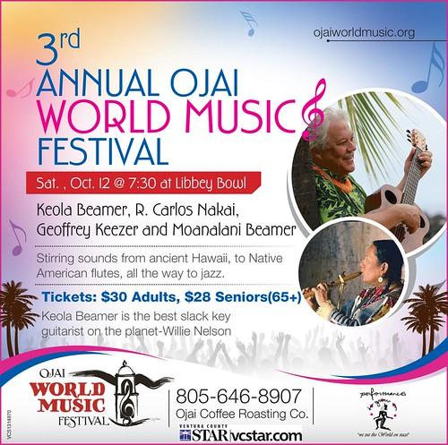 Ojai World Music Festival 2013