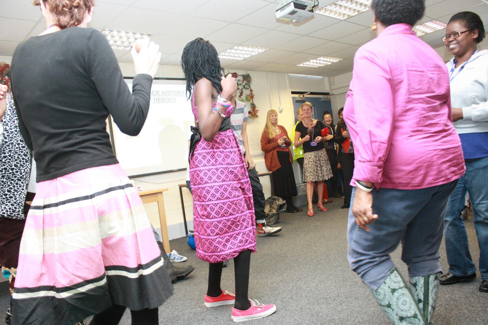 Gum Boot Dancing - Black History Month 2013 | Gum Boot Danci ...