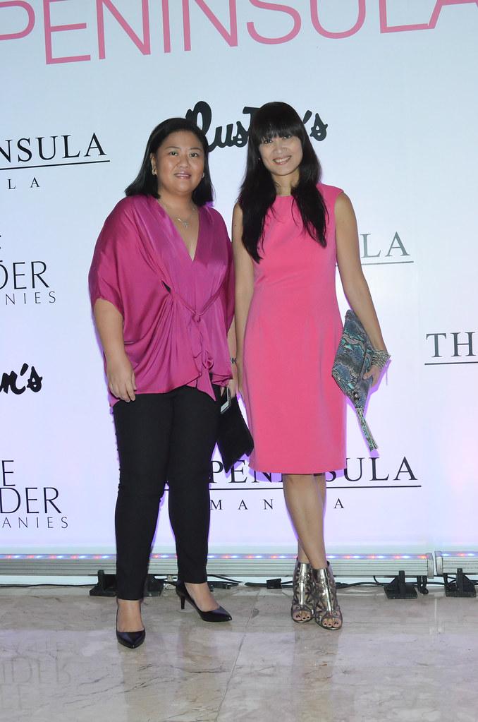 Myrza Sison and Tara Santos