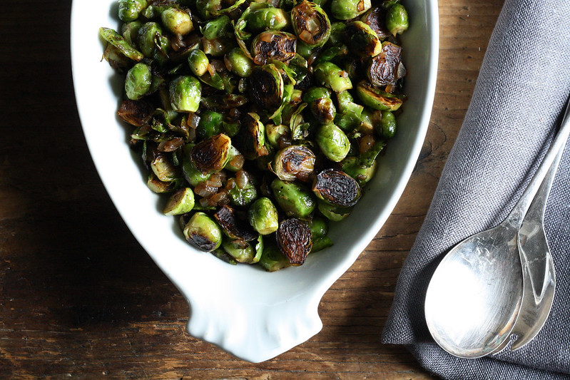 Pot Stuck Brussels Sprouts on Food52