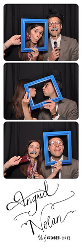 nolan + ingrid wedding photobooth
