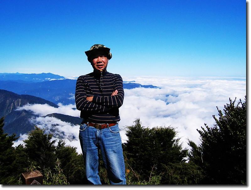 北大武山頂(elev. 3090 m) 2