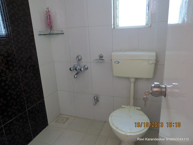 Common toilet - Visit 2 BHK Show Flat of Vastushodh Projects' UrbanGram Kolhapur, Township of 438 Units of 1 BHK 2 BHK Flats, behind S. P. Office, near Dream World Water Park, Kolhapur 416003 Maharashtra, India