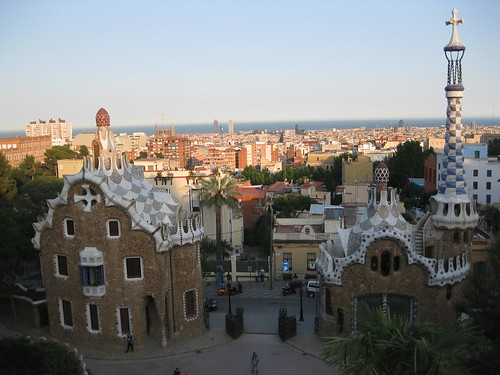 Gaudi's Park Güell. From Foodie Finds: Exploring Barcelona, One Bite at a Time