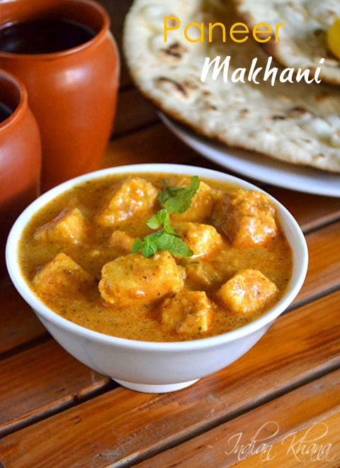 Paneer makhani recipe butter paneer recipe no onion no garlic paneer makhani recipe butter paneer recipe forumfinder Images