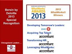 Bersin WhatWorks Awards