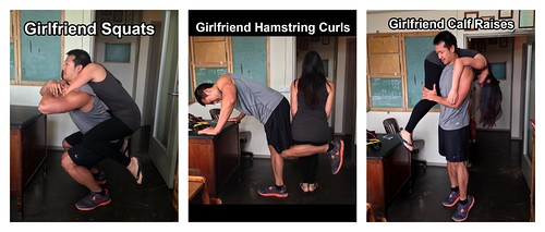 Legs workout (girlfriend series)