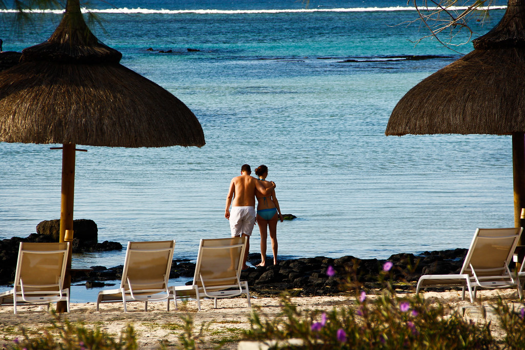 Honeymoon Couple @ Ambre Resort, Mauritius!!!
