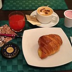 Breakfast at the Hotel Santa Croce