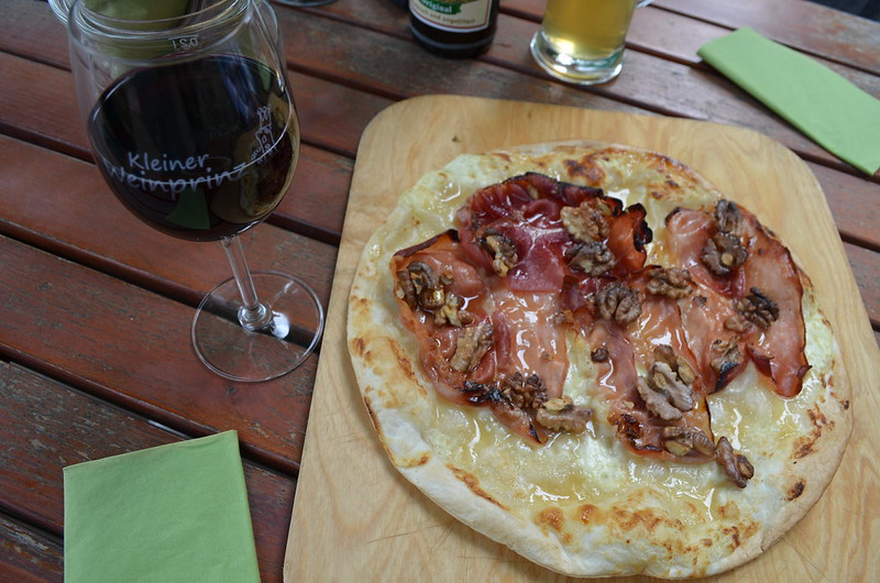 Rheingau Romantik Tour_wine and flammkuchen at Burg Rheinstein