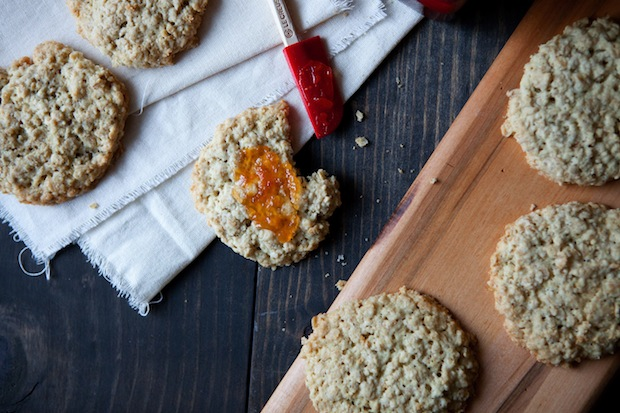 Oatcakes from Food52