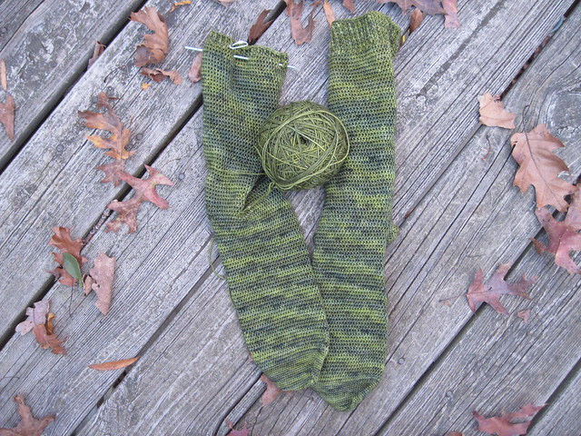 Mean Green Hunting Socks
