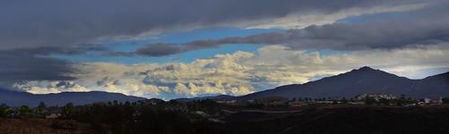 sky sun rain clouds temecula
