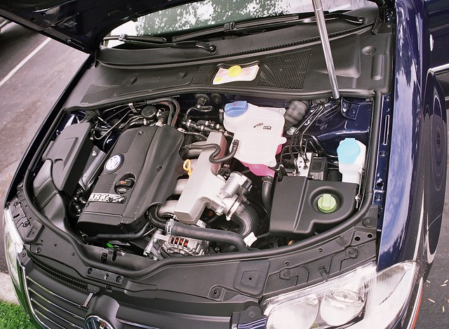 VW    Passat    2003    1      8       turbo    engine  gas  fwd   Mounted fore and      Flickr  Photo Sharing