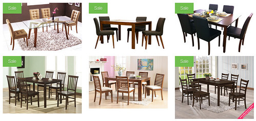 picket and rail dining table collection
