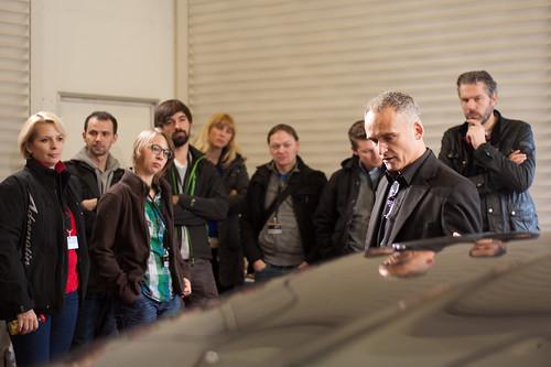 Opel Blogger-Event im Testzentrum Dudenhofen