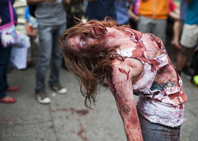 Zombie Walk Vancouver 2013