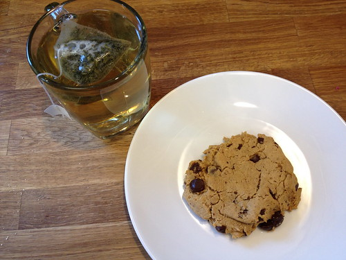 cookie and tea