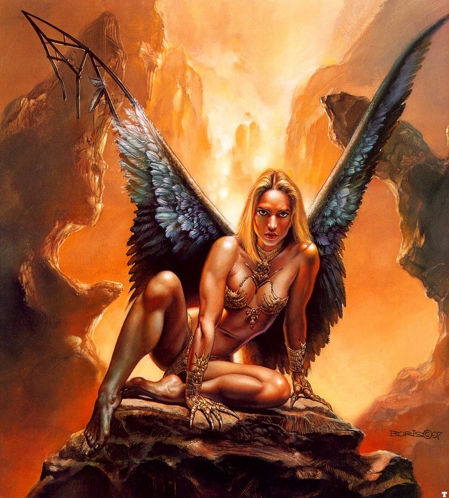 Image result for boris vallejo mermaid