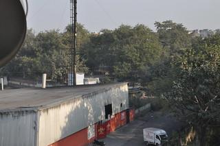 CBWTF as seen from balcony of Sukhdev Vihar