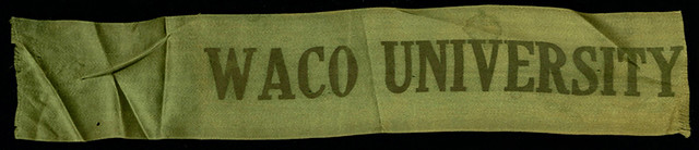 Waco University ribbon