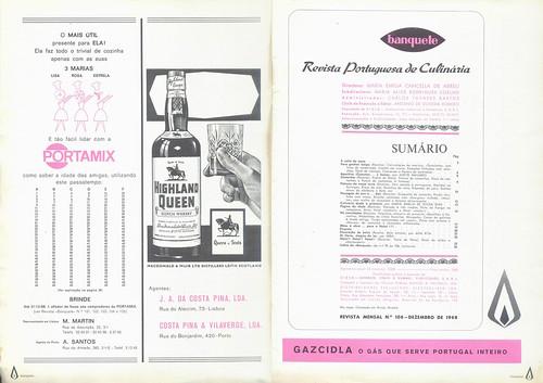 Banquete, Nº 106, Dezembro 1968 - 1