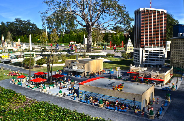 Legoland, Florida - Miniland - orlando