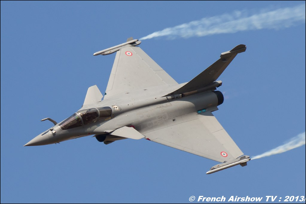 Rafale Solo Display au Free Flight World Masters Valence 2013 par Bleu Ciel Airshow 2013,
